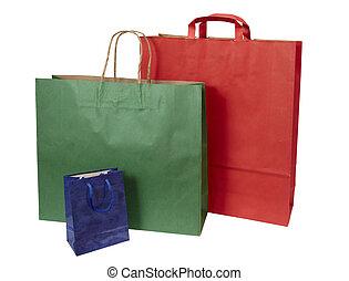 einkaufstüte, verbraucherbewegung, einzelhandel
