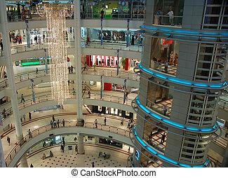 einkaufszentrum, 2, shoppen