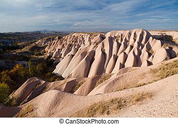 einmalig, türkisch, berühmter ort, -, cappadocia