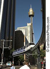 einschienenbahn, sydney, australia