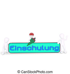 Einschulung letters in german
