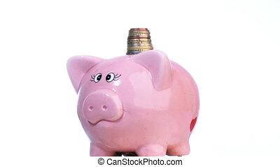 einsparung, rezession, geld