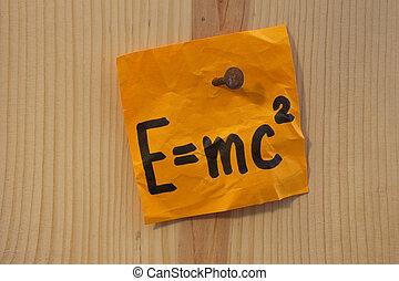 Einstein equation nailed - Albert Einstein well known...