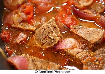 eintopfgericht, rindfleisch