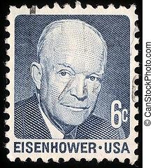 eisenhower, 1953-61, bennünket, dávid, elnök, dwight