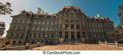 Eisenhower Executive Office Building in Washington, DC