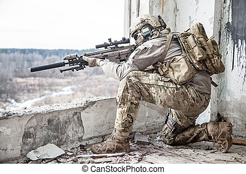 ejército de estados unidos, guardabosques