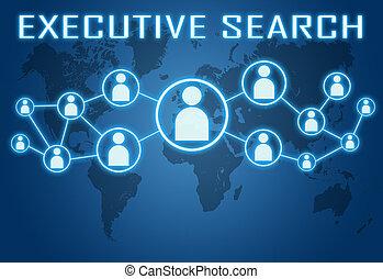 ejecutivo, búsqueda