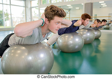ejercicio, rutina