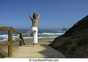 ejercicios, yoga