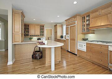 ek, cabinetry, kök
