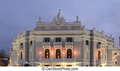 Ekaterinburg State Academic Opera and Ballet Theatre. Time...
