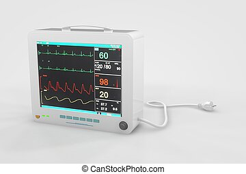 ekg, 心拍数のモニター
