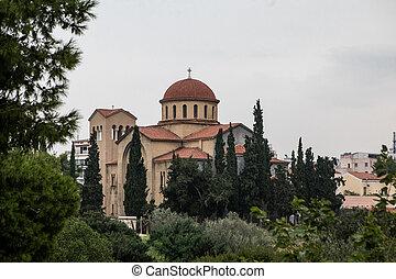 Ekklisia Agia Triada church in Athens