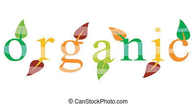 ekologi, organisk, ikon