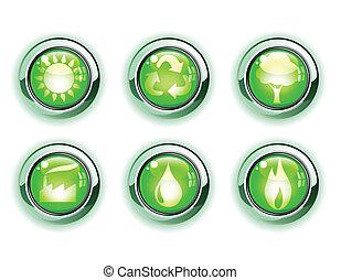 ekologia, ikony