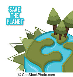 ekologický, design