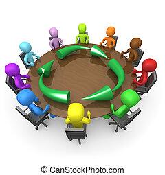 ekologie, setkání