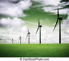 ekologisk, energi