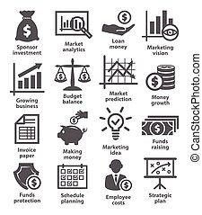 ekonomisk, affärsverksamhet ikon