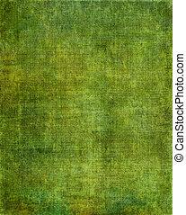 ekran, zielone tło