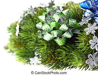 elágazik, közül, karácsonyfa, noha, íj