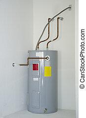 eléctrico, calentador de agua