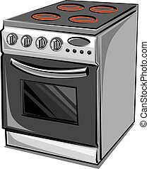 eléctrico, cocina