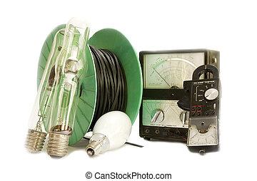 eléctrico, herramientas