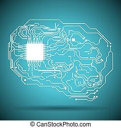 elétrico, circuito
