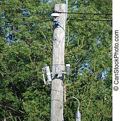 elétrico, energia, distribuição