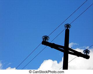 elétrico, energia