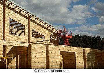 előkészítő, tető