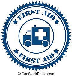 először, aid-stamp