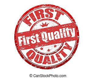 először, minőség, bélyeg