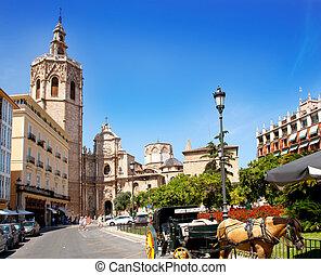el , καθεδρικόs ναόs , miguelete, micalet, valencia