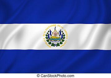 el, 旗, サルバドール