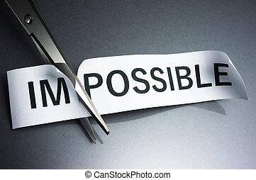 el abrirse, el, possibility.