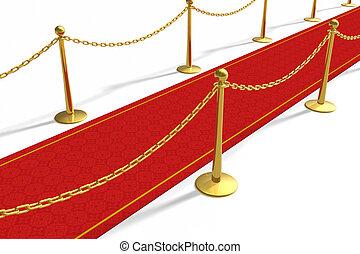 el, alfombra roja