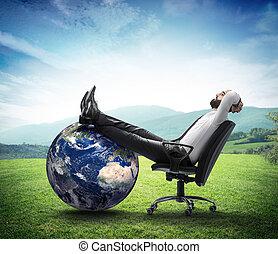 el, ambiente, es, nueva corporación mercantil