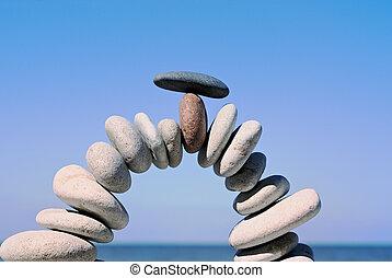 el, arco de piedra