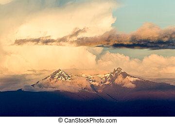 el, autel, équateur, volcan