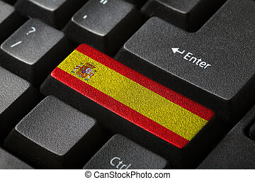 el, bandera española