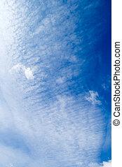 el, blanco, clouds.