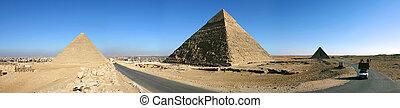 el cairo, pirámides, giza