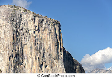 El Capitan rock in Yosemite