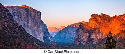 El Capitan sunset