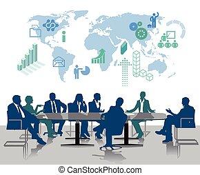 el consultar, reunión