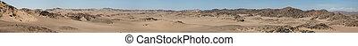 el, costa de esqueleto, desierto