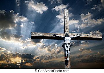 el, cruz, de, jesucristo